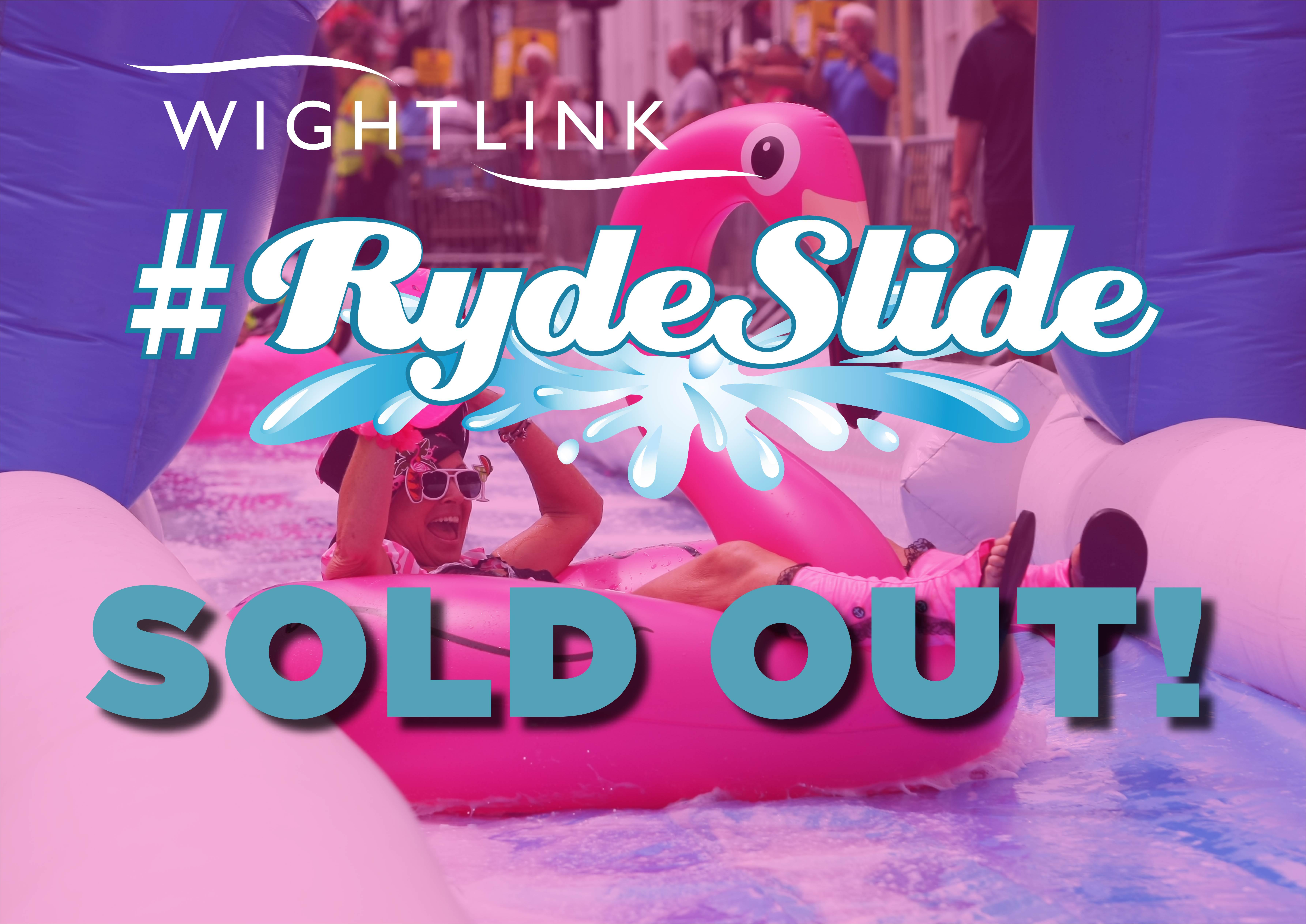 ryde slide sold out