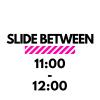 slide between